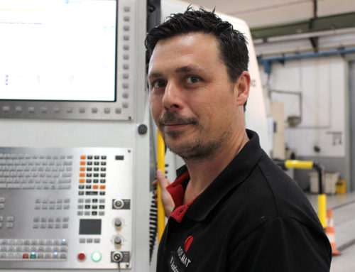 Vicente Andreu, new team leader and head of machines